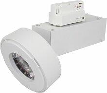 Silamp - Spot LED sur rail 12W 38° Monophasé