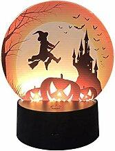 SilenceID - Guirlande Lumineuse pour Halloween -