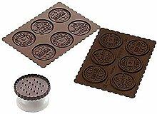 Silikomart 22.165.77.0165 CKC05 Kit de Pâtisserie
