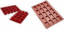 Silikomart 26.105.00.0060 SF105 Moule Forme Cube