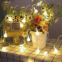 Silingsan Guirlande Lumineuse Boules, 10M 100 LED