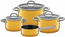 Silit 2109302407 Batterie de Cuisine 4 pièces