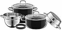 SILIT 2109304821 Compact Ensemble de casseroles à