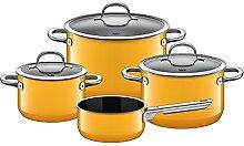 Silit Passion Yellow Batterie de cuisine 4 pièces