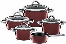 Silit Vitaliano Rosso Batterie de cuisine 5