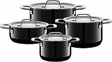 Silit Zeno Black Batterie de cuisine 4 pièces
