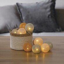 Silumen Guirlande Lumineuse Boule 10 Pcs Palm À