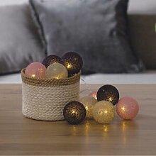 Silumen Guirlande Lumineuse Boule 10 Pcs Soft 6cm