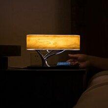 Silumen Lampe De Chevet Led Design Avec Enceinte &