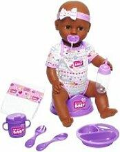 Simba - new born baby - poupon violet boit fait