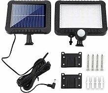 Simple 56LED solaire Éclairage public Applique