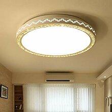 Simple Moderne Salon Salle De Lumière LED Cristal