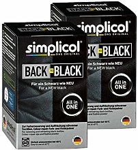 Simplicol Back-to-Black: Kit Tout-en-1, Raviveur