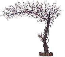 Simulation Arbre de fleur de pêche, arbre de