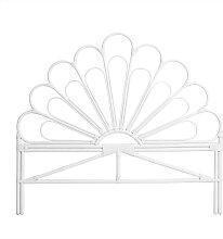 Singaraja - Tête de lit design en rotin 160cm