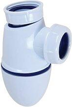 Siphon de lavabo à joint intégré - NICOLL -