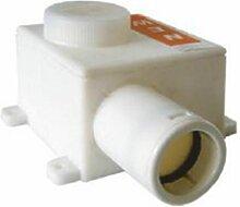 Siphon pour tube d'évacuation de condensats -