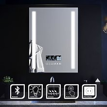 Sirhona - Miroir Salle de Bains Luminosité