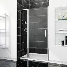 SIRHONA Porte de douche 130 x 185 cm porte