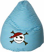 Sitting Point - Pouf poire enfant Pirate XL