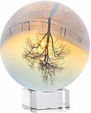 Siumir Boule de Cristal avec Base en Cristal, K9