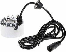 Siwetg 12 LED Coloré Brumisateur à ultrasons