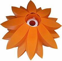 Six étages de lotus lustre bricolage pendentif