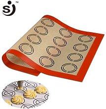 SJ – tapis de cuisson antiadhésif en Silicone,