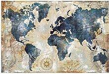 SJYYR Vintage Carte du Monde Puzzle 1500 Pièces
