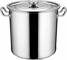 SJZLMB marmite faitout Pot de Bouillon en Acier