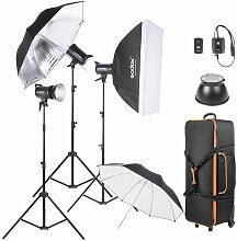 Sk300-D 3 * 300Ws Studio Photo Strobe Flash Kit