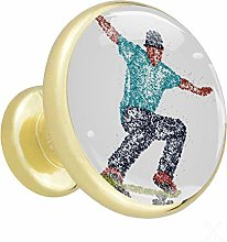 Skateboard garçon Poignées de tiroir Poignées