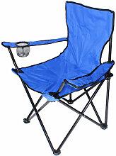 Skecten - Chaise de camping bleu