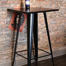 Skecten - Table de Bar Table à Manger Table de