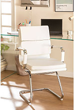 SKLUM Chaise de Bureau avec Accoudoirs Mina