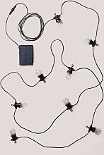 SKLUM Guirlande solaire à LED (7 m) Borat