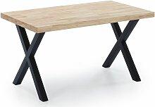 Skraut Home - Table à manger fixe, salon, modèle
