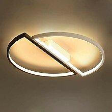 SKSNB Plafond LED Abat-Jour Acrylique Circulaire