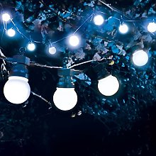 SKYLANTERN Guirlande Guinguette 3M Blanche LED