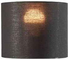 SLV Abat-jour FENDA Ø 20cm rond, noir/cuivre -