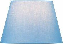 SLV Abat-jour FENDA, conique, bleu, Ø/H 30/20 cm