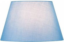 SLV Abat-jour FENDA, conique, bleu, Ø/H 45,5/28