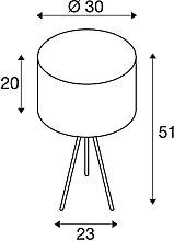 SLV Fenda Mix & Match Lot de 3 lampes de table LED