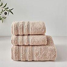 SLYNSW Serviettes en coton Ensembles de serviettes