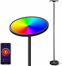 Smart Lampadaire LED, Bomcosy 25W RGBW Lampadaire