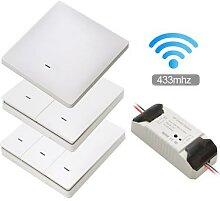 Smart Life – interrupteur WiFi sans fil RF,