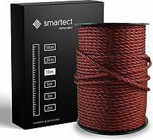 smartect Fil Electrique Textile pour Lampe -