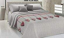Smartsupershop Couvre-lit d'été pour lit 2