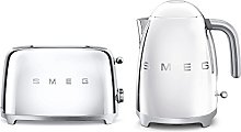 Smeg TSF01SSUK KLF01SSUK | Ensemble grille-pain et