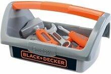 Smoby black + decker boite a outils 6 accessoires